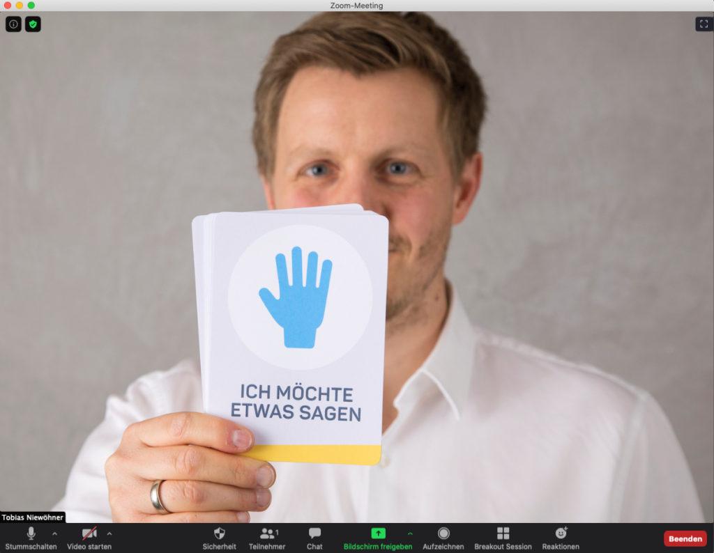 Tobias Niewöhner Führungs-Fächer 02 Online-Meetings ZOOM